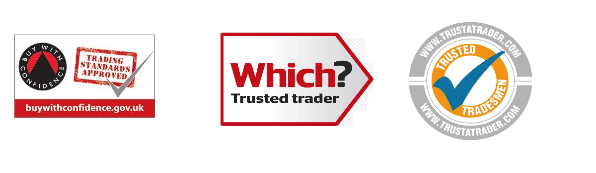 Trading standards and Trustatrader logos